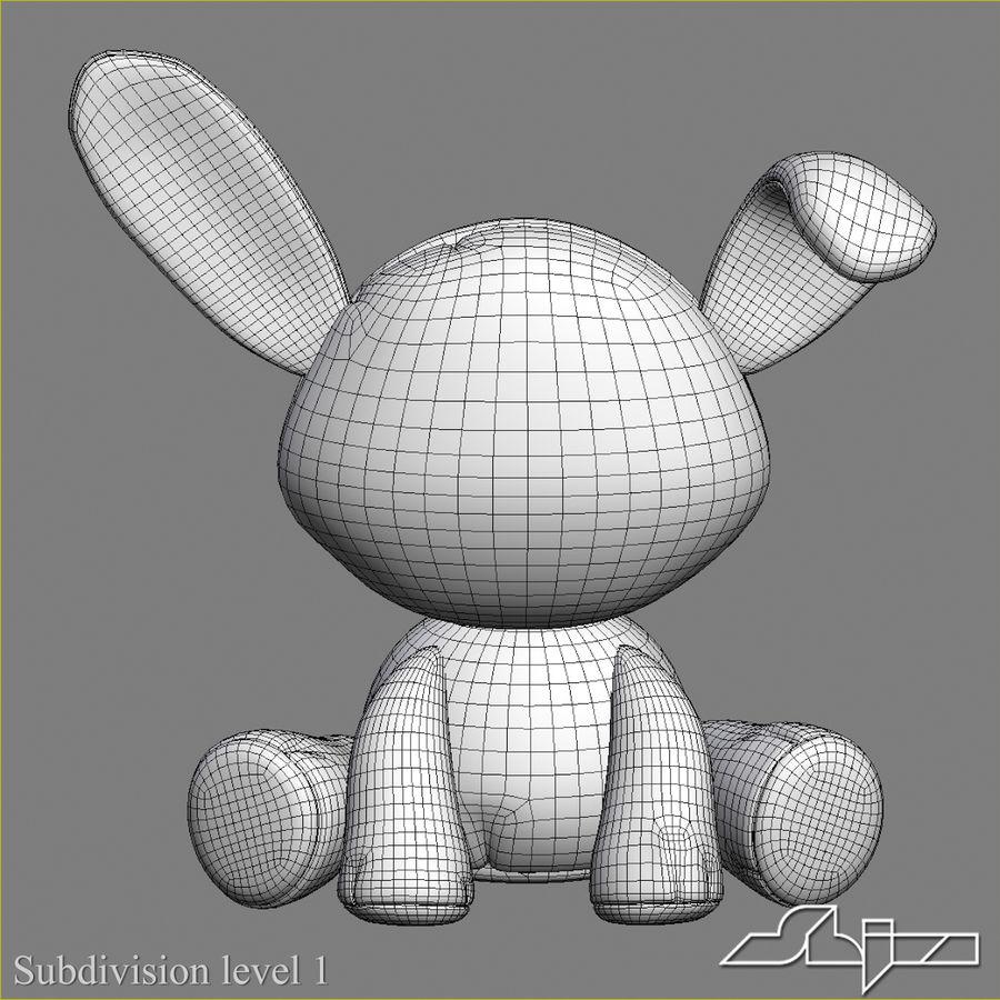 Collezione di giocattoli animali Skelanimals royalty-free 3d model - Preview no. 12