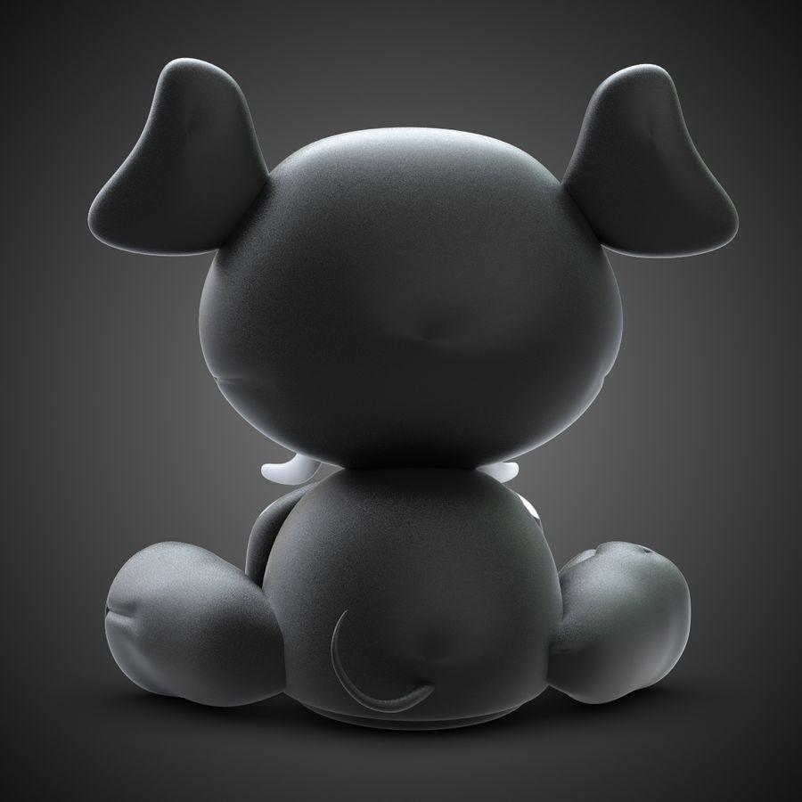 Collezione di giocattoli animali Skelanimals royalty-free 3d model - Preview no. 21