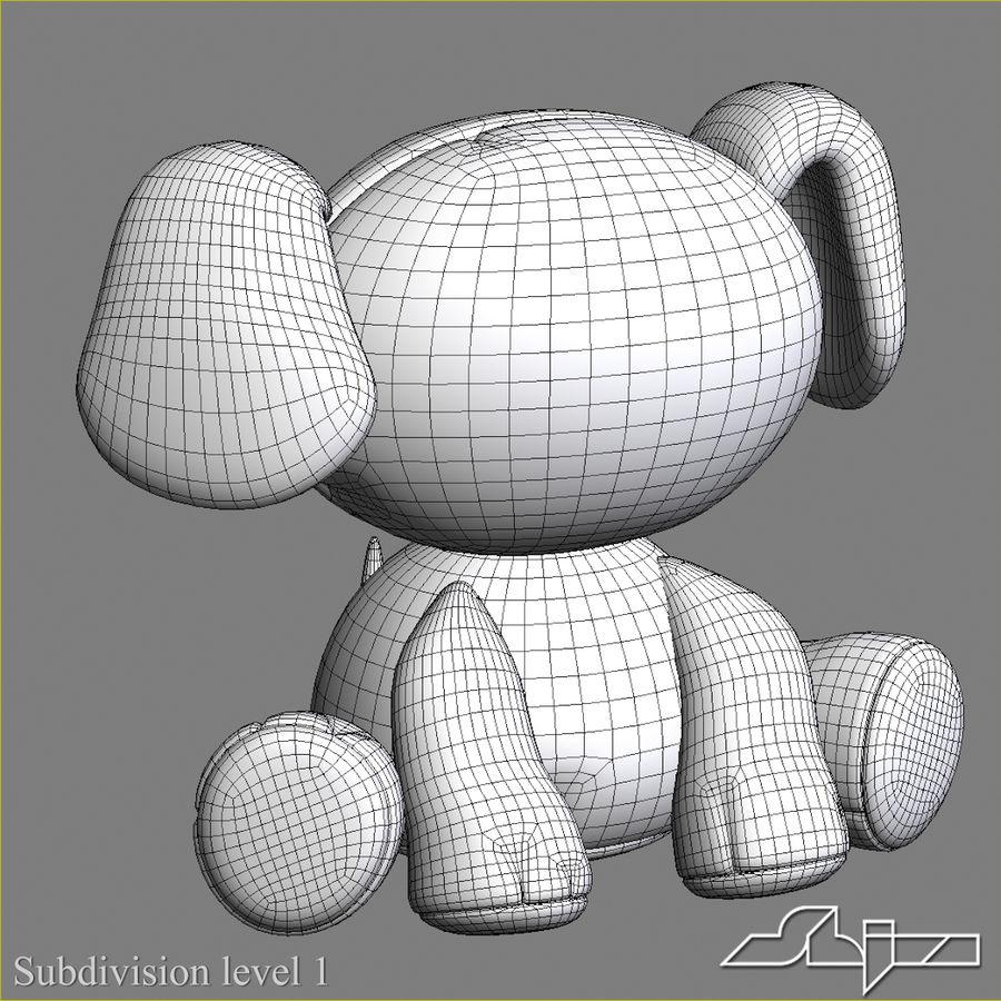 Collezione di giocattoli animali Skelanimals royalty-free 3d model - Preview no. 18