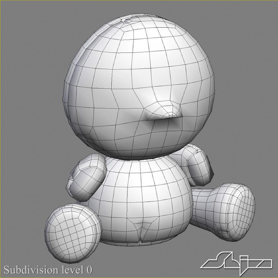 Collezione di giocattoli animali Skelanimals royalty-free 3d model - Preview no. 38