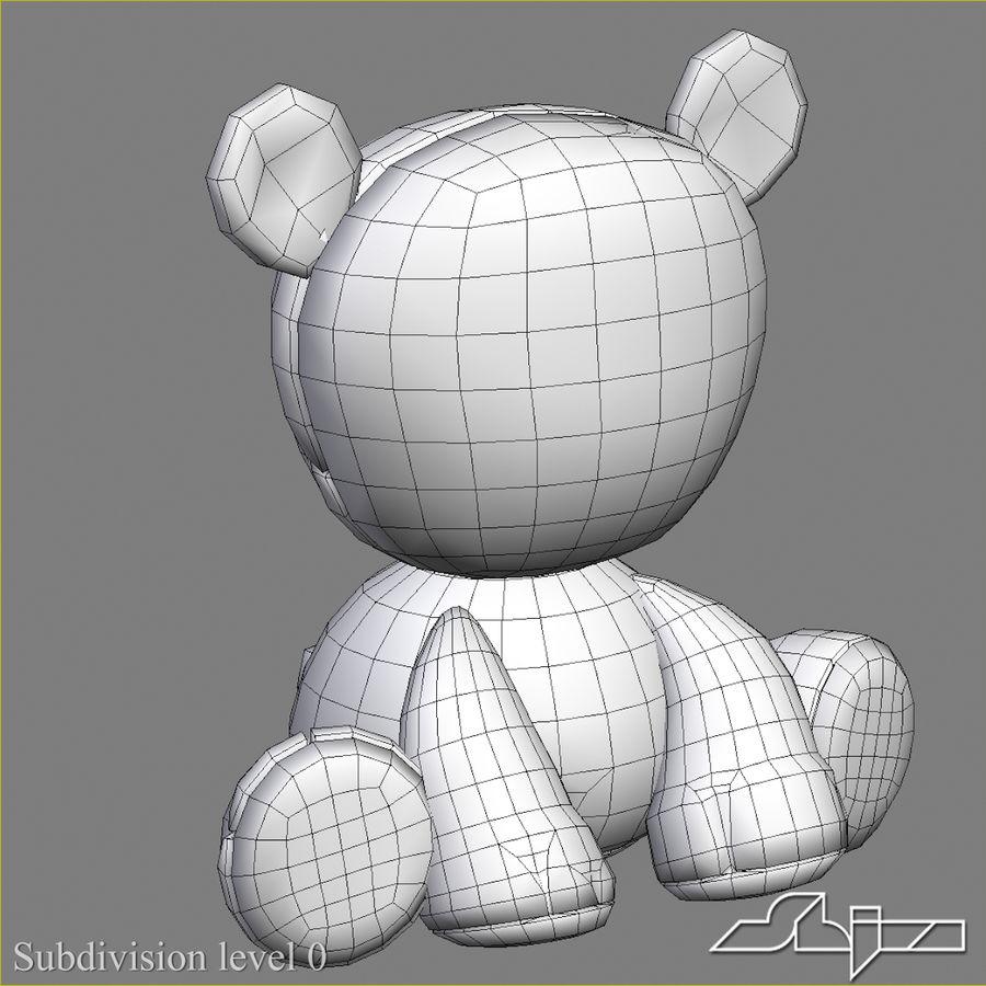 Collezione di giocattoli animali Skelanimals royalty-free 3d model - Preview no. 6
