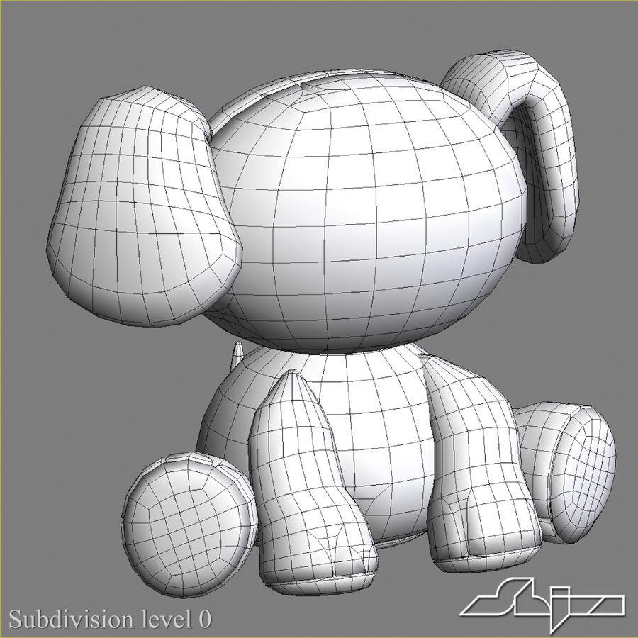 Collezione di giocattoli animali Skelanimals royalty-free 3d model - Preview no. 17