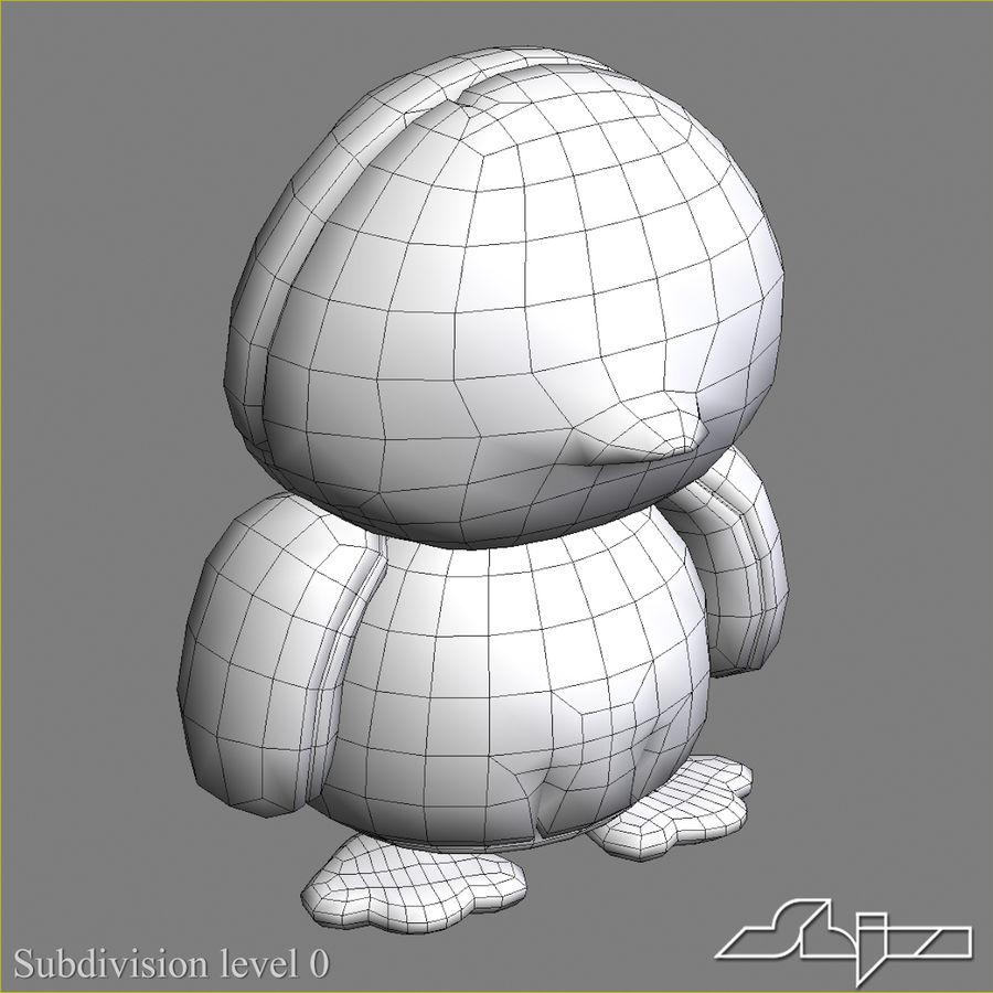 Collezione di giocattoli animali Skelanimals royalty-free 3d model - Preview no. 4