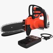 Cordless Chain Saw Black and Decker Set 3d model