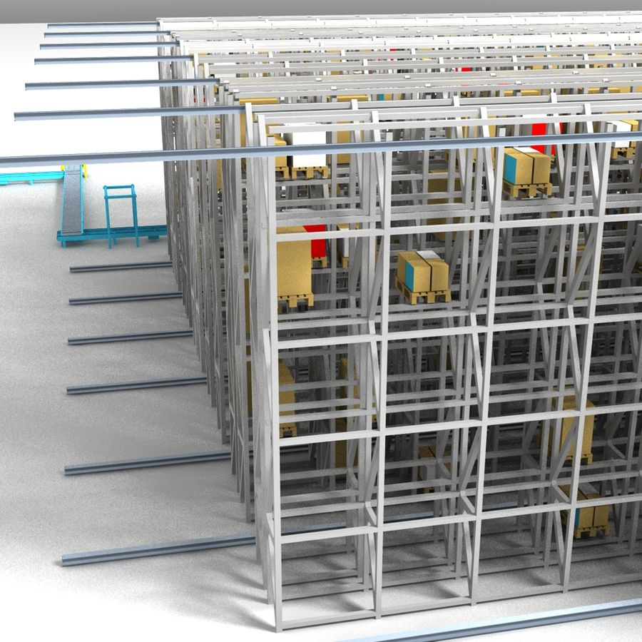 Storage royalty-free 3d model - Preview no. 7