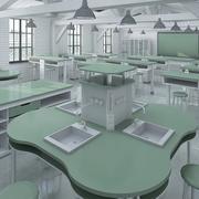 理科教室 3d model