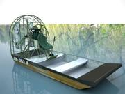 Airboat 3d model