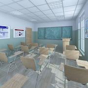 Classroom 3 3d model