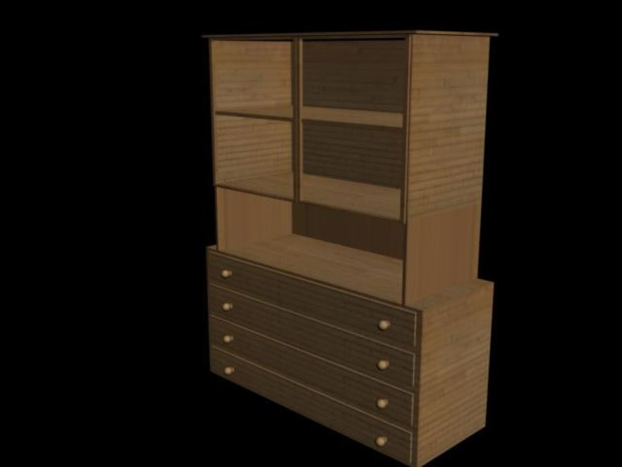 buffet royalty-free 3d model - Preview no. 3