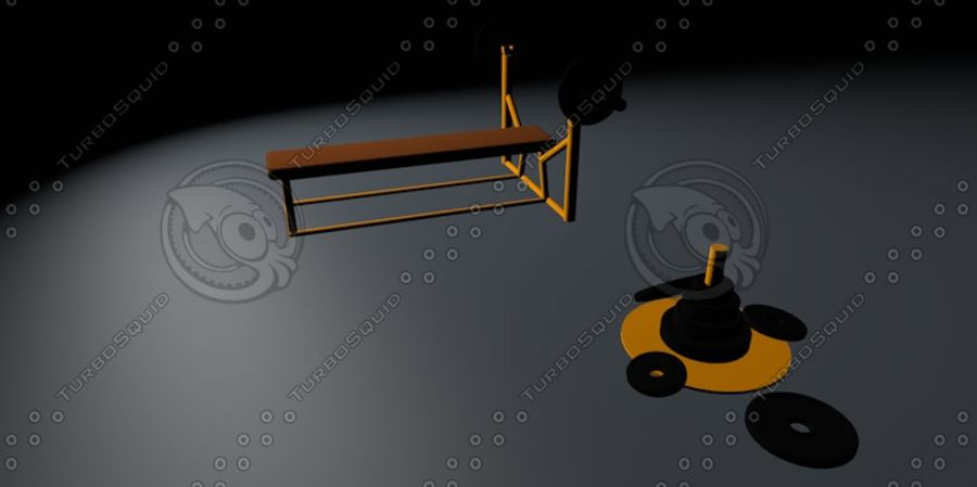 sport royalty-free 3d model - Preview no. 6