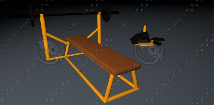 sport royalty-free 3d model - Preview no. 4