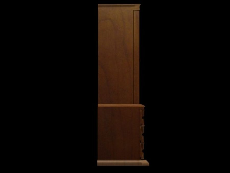 Şifonyer Armoire royalty-free 3d model - Preview no. 12