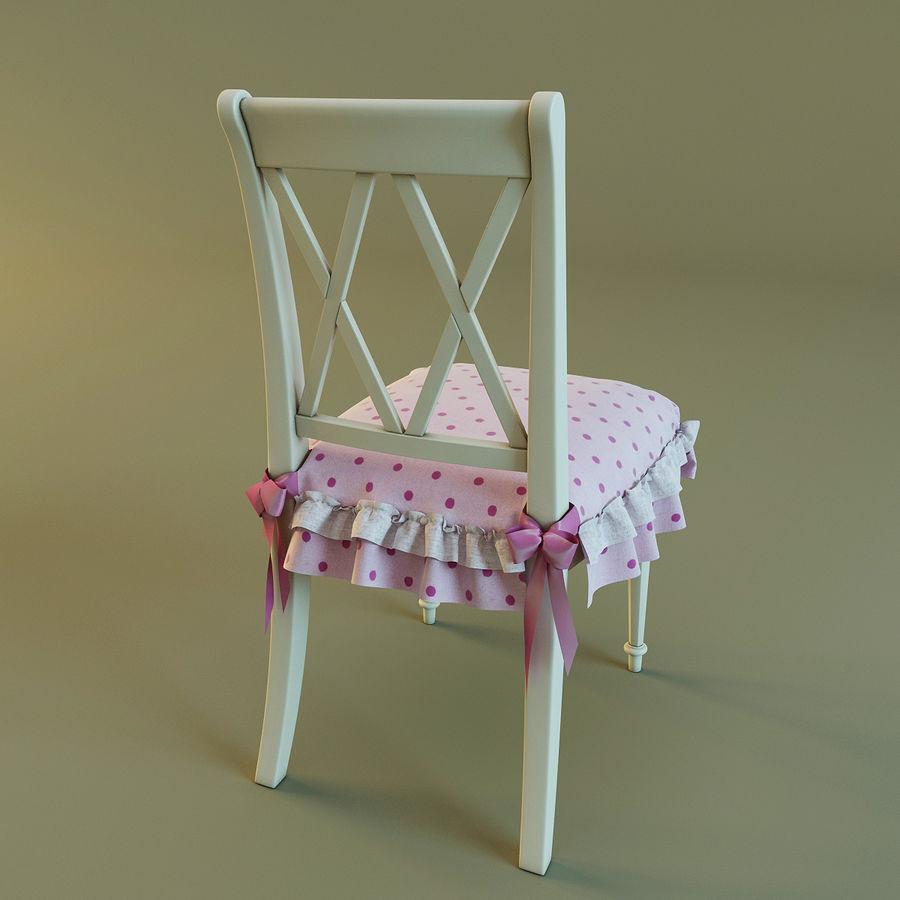 Biurko i krzesło royalty-free 3d model - Preview no. 12