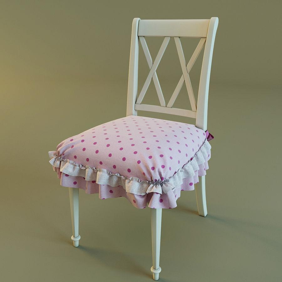 Biurko i krzesło royalty-free 3d model - Preview no. 10
