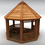 Garden gazebo 3d model