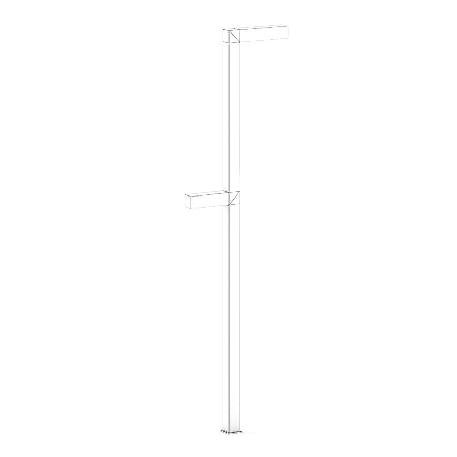 Street Lamp 3 royalty-free 3d model - Preview no. 2
