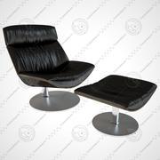 Kara Sessel 3d model