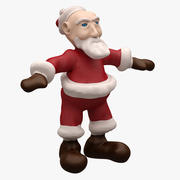Santa LOWPOLY - TOPOLOGIA - NOT RIGGED 3d model