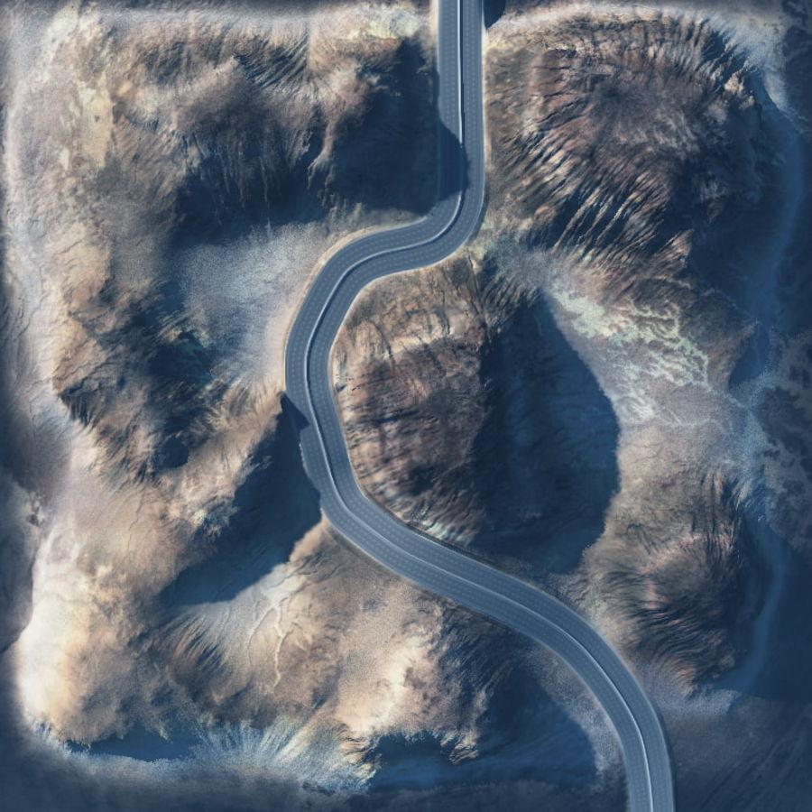 Autostrada dla Vue royalty-free 3d model - Preview no. 7