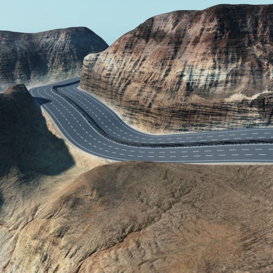 Autostrada dla Vue royalty-free 3d model - Preview no. 3