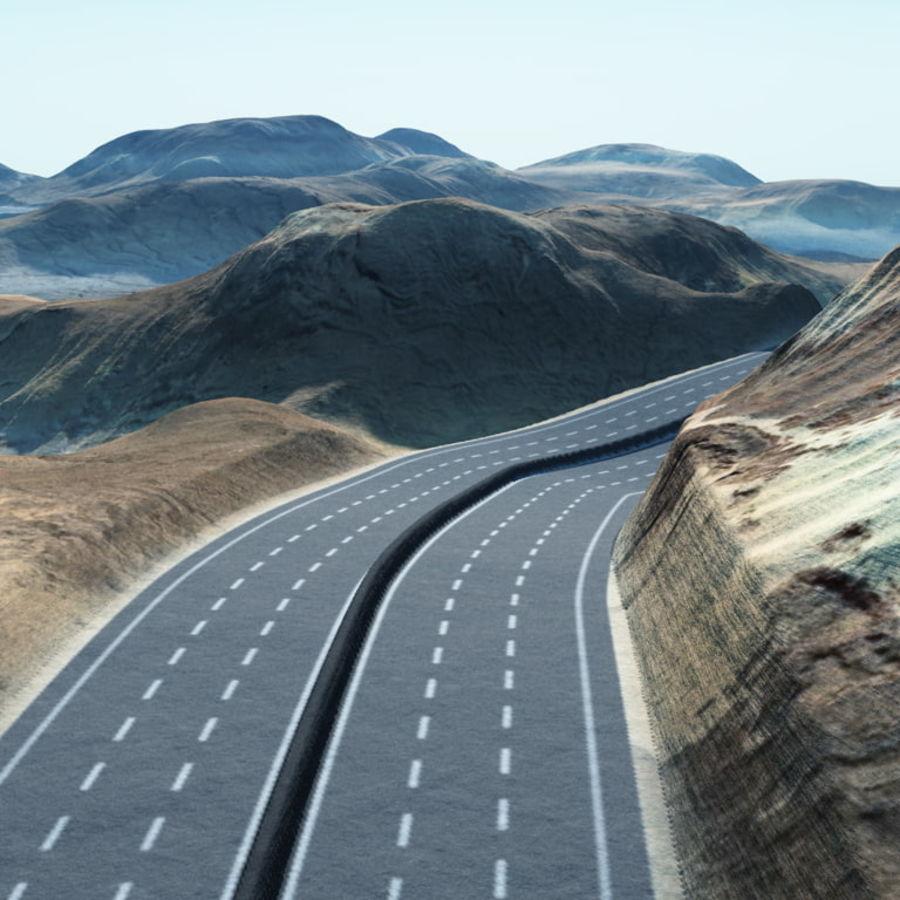 Autostrada dla Vue royalty-free 3d model - Preview no. 2