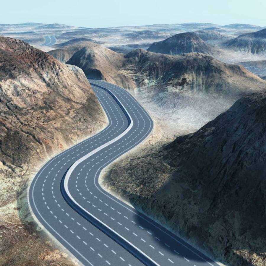 Autostrada dla Vue royalty-free 3d model - Preview no. 5