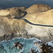 Scenic road for Vue 3d model