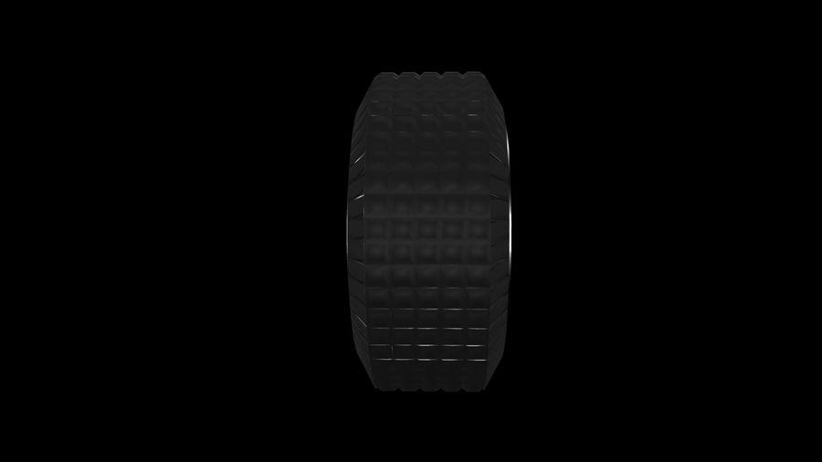 Car Wheel 1 royalty-free 3d model - Preview no. 3