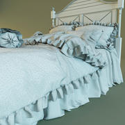Panel Bed 3d model