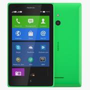 Nokia XL Ljusgrön 3d model