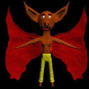 Cartoon Daemon 3d model