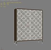 카라 콜-리본으로 싸서 3d model