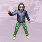 Rappare 3d model