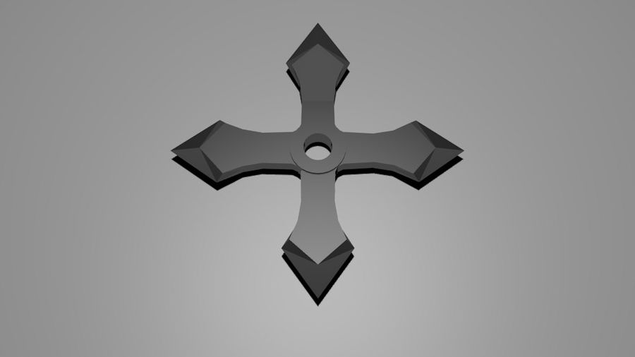 Ninja Weapons royalty-free 3d model - Preview no. 3