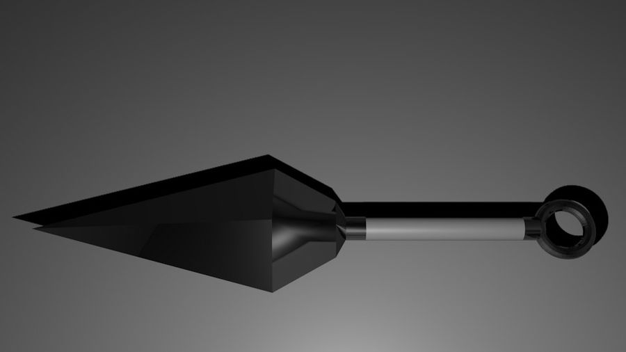Ninja Weapons royalty-free 3d model - Preview no. 7