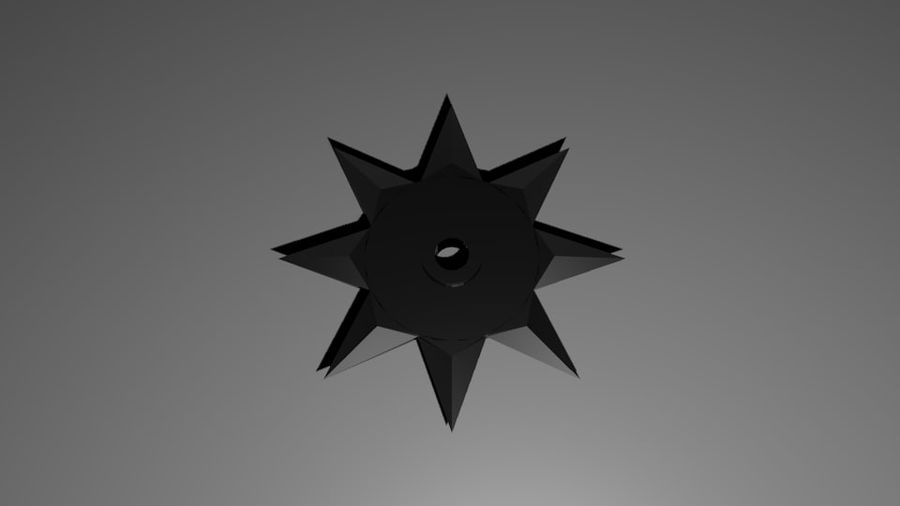Ninja Weapons royalty-free 3d model - Preview no. 6