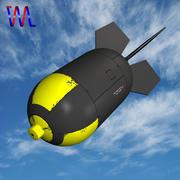 Bombe, régime nucléaire 3d model