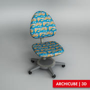 Chaise enfant 3d model