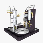 Industrieel materiaal 3d model
