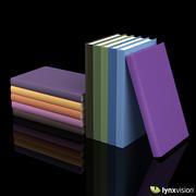 Gebundene Buchsammlung 3d model
