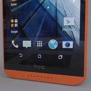 Htc 816 Orange 3d model