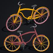 Cartoon Bicycle 3d model