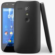 Motorola Moto G Black modelo 3d