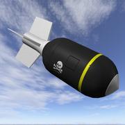 Схема Бомба Веселого Роджера 3d model