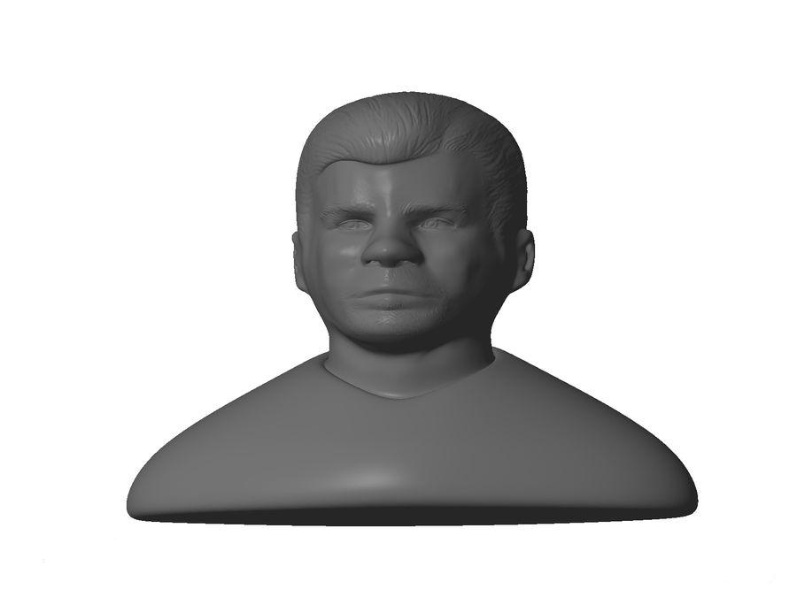 男性の頭 royalty-free 3d model - Preview no. 1