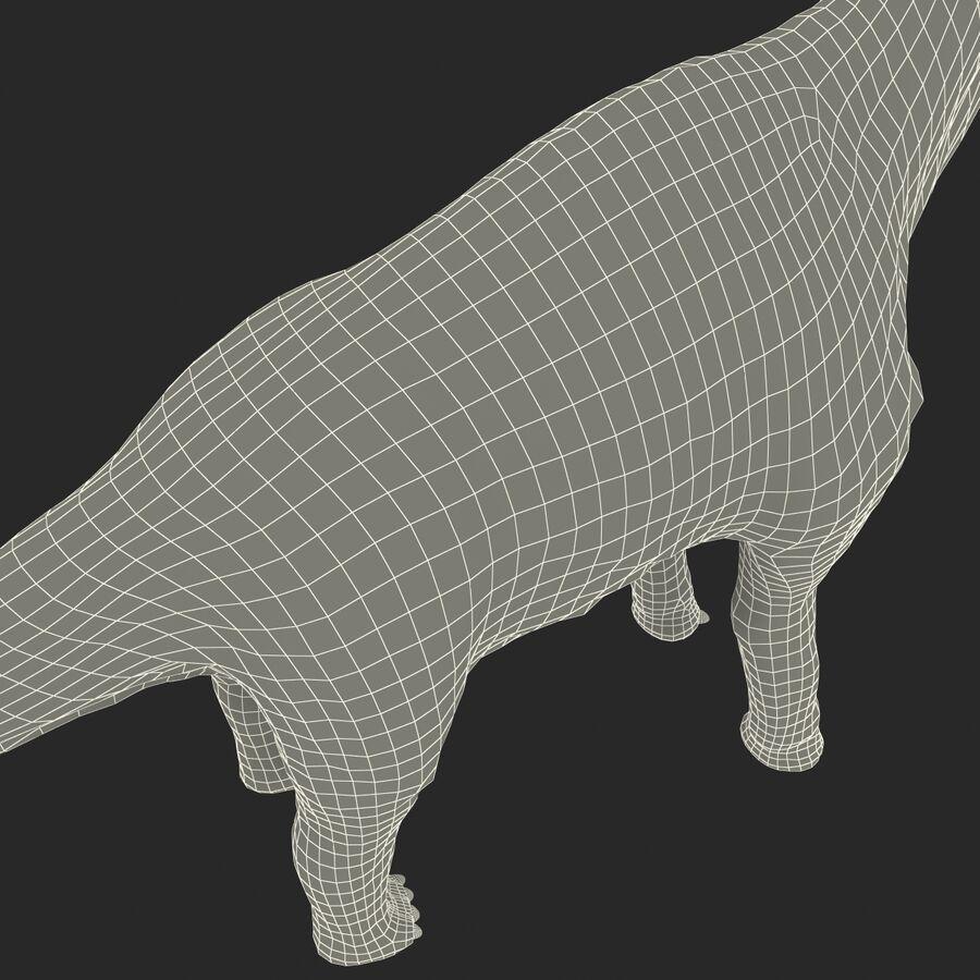 Brachiosaurus royalty-free 3d model - Preview no. 34