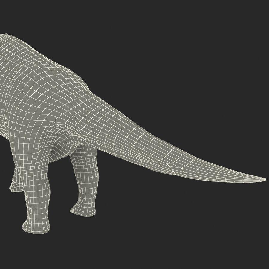 Brachiosaurus royalty-free 3d model - Preview no. 25