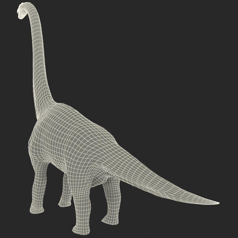 Brachiosaurus royalty-free 3d model - Preview no. 22