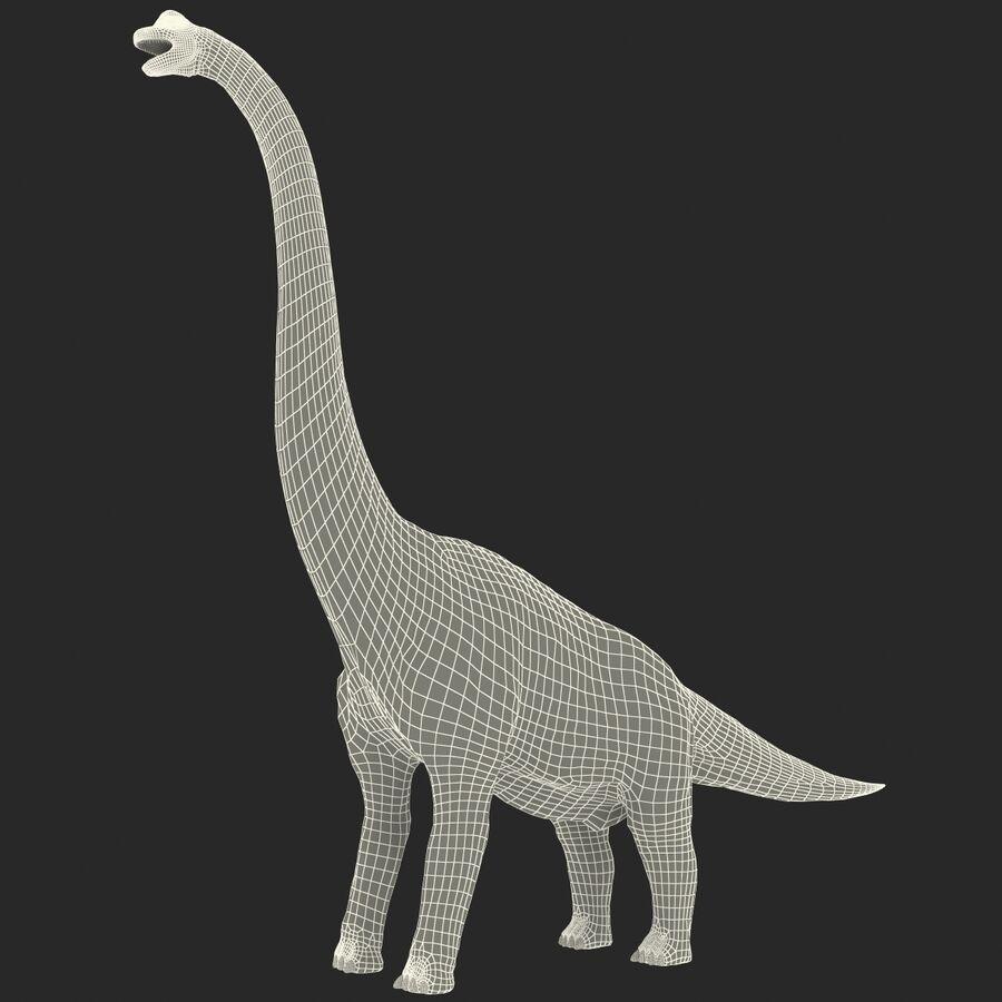 Brachiosaurus royalty-free 3d model - Preview no. 19