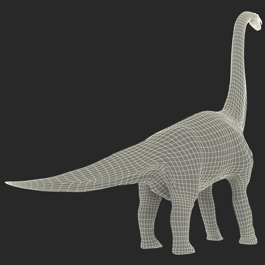 Brachiosaurus royalty-free 3d model - Preview no. 20